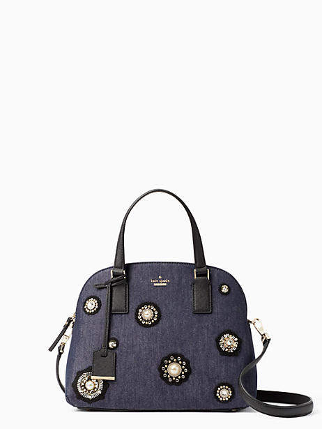 Kate Spade Cameron street embellished denim lottie - PORT BLUE - STYLE