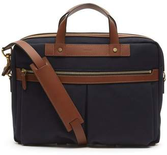 Mismo M/S Office Leather Briefcase