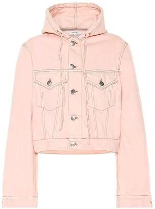 Ganni Hooded jean jacket