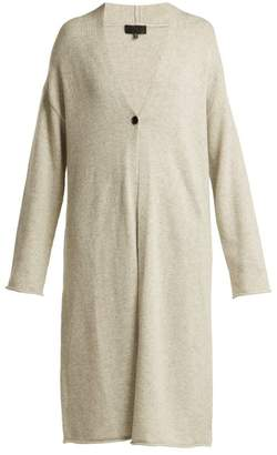 Nili Lotan Clarissa Cashmere Cardigan - Womens - Light Grey