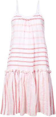 Lemlem striped flared dress