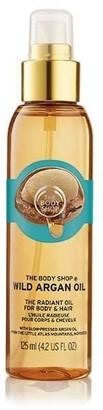 The Body Shop Wild Argan Oil - The Radiant Oil for Body & Hair