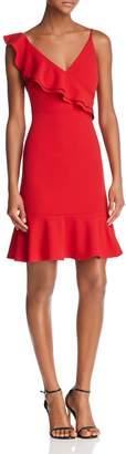 Aqua Ruffled V-Back Dress - 100% Exclusive