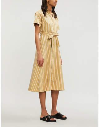 Sandro Stormy cotton-crepe dress