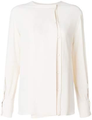 Mauro Grifoni off-centre button blouse