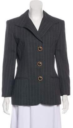 Christian Dior Wool Pinstripe Blazer