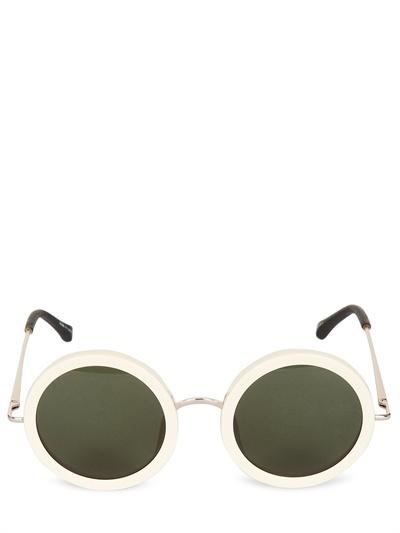 Linda Farrow - The Row Rounded Sunglasses