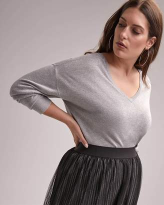 Long Sleeve Lurex Sweater - In Every Story