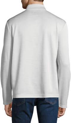 Callaway Men's Long-Sleeve Snap-Front Fleece Sweater