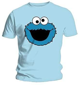 Sesame Street Men's Coookiehead Short Sleeve T-Shirt