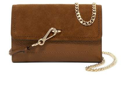 Vince Camuto Blena Leather & Suede Clutch
