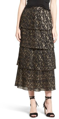 Women's Olivia Palermo + Chelsea28 Accordion Pleat Midi Skirt $139 thestylecure.com