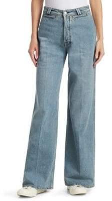 Acne Studios Tiffany Wide Leg Jeans