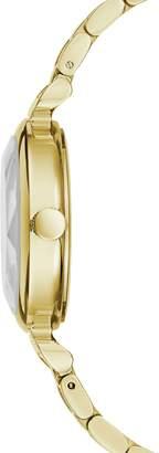 BCBGMAXAZRIA Classic Goldtone Stainless Steel Bracelet Watch