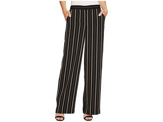 Vince Camuto Stripe Pull-On Pants Women's Casual Pants