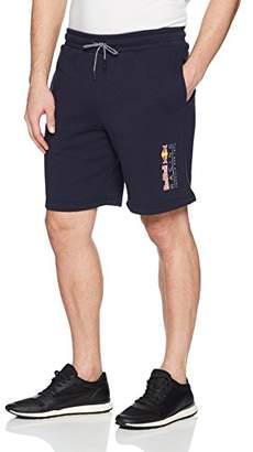 Puma Men's Red Bull Racing Logo Sweat Shorts