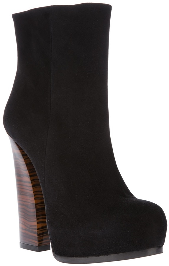 Ballin high-heeled ankle boot