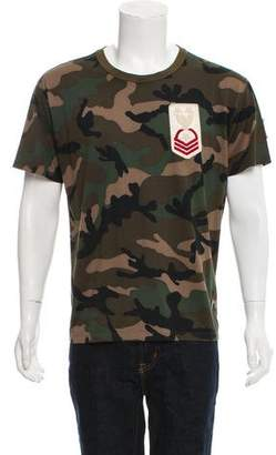 Valentino Army Patch Camo T-Shirt