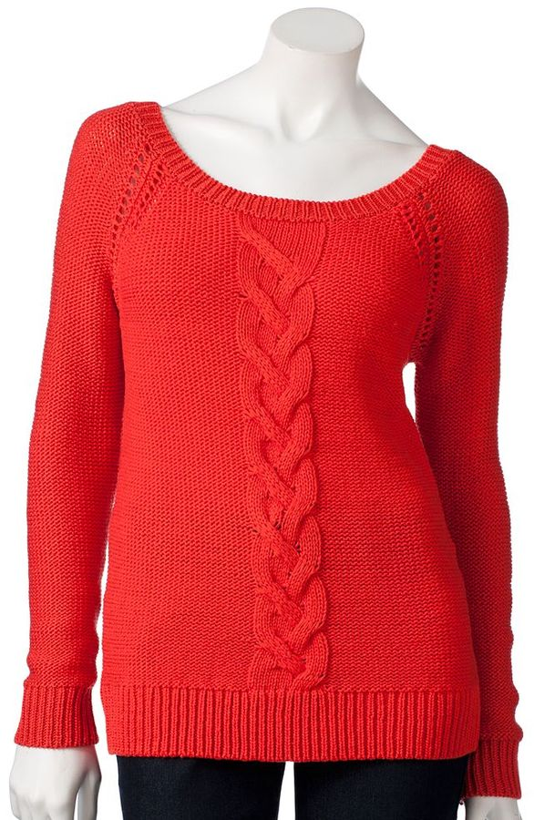 Apt. 9 cable-knit sweater