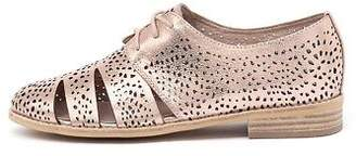 Django & Juliette New Abra Rose Gold Womens Shoes Casual Shoes Flat