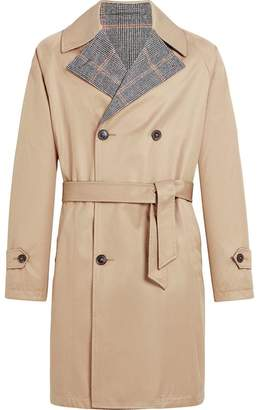 MACKINTOSH Beige Reversible Cotton & Wool Trench Coat GM-120