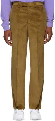 Noah NYC Tan Corduroy Trousers