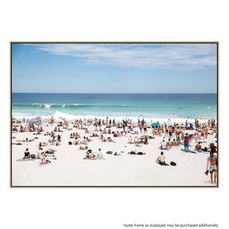 United Artworks Beach Weather Canvas Print With Floating Frame