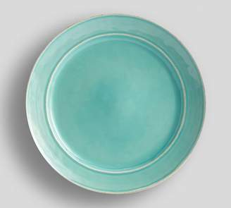 Pottery Barn Cambria Dinner Plate - Turquoise