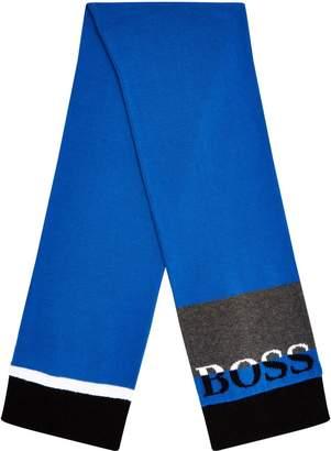 HUGO BOSS Colour Block Scarf