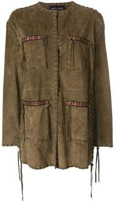 Etro woven safari jacket