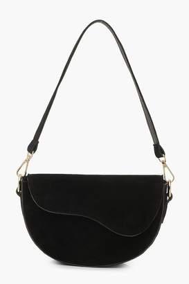 boohoo Suedette Multiway Shoulder Bag