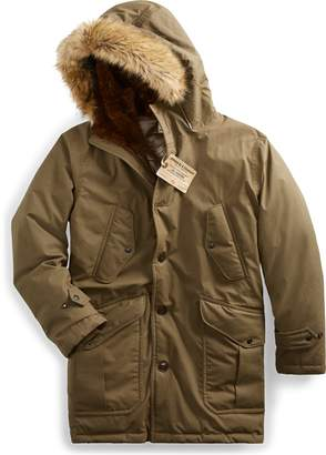 Ralph Lauren Shearling-Trim Down Parka
