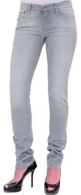 Earl Jean - Grey Out Wash Low Rise Slim Jean