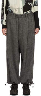 Yohji Yamamoto Grey Amefoot Trousers