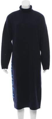 Closed Wool Turtleneck Dress