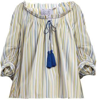 Thierry Colson Evita striped cotton top