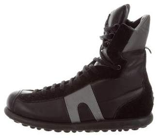 Gosha Rubchinskiy Leather Pelot Sneakers
