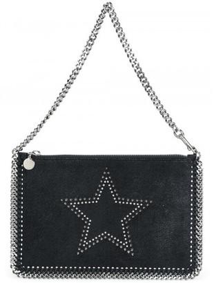 Stella McCartney 'Falabella' studded clutch $540 thestylecure.com