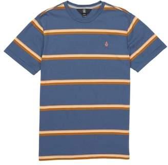 Volcom Sheldon Stripe Crewneck T-Shirt