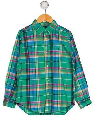Ralph Lauren Boys' Plaid Shirt