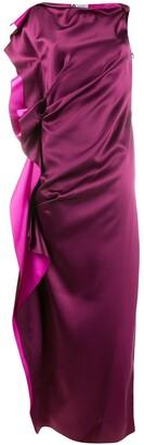 Lanvin long-length gown