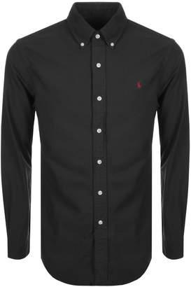 Ralph Lauren Long Sleeved Slim Fit Shirt Black