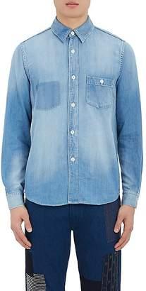 Fdmtl Men's Denim Button-Front Shirt