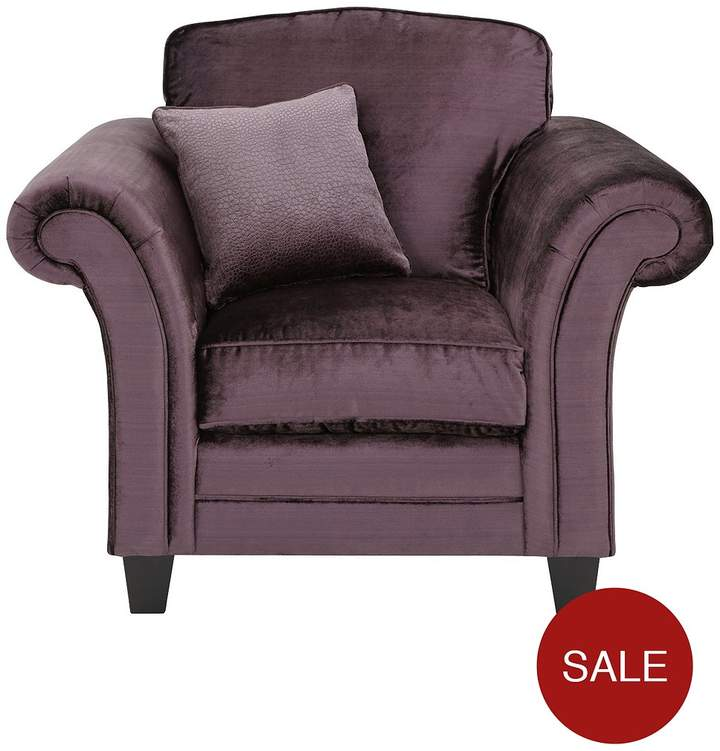 Luxe Collection Glamour Fabric Armchair