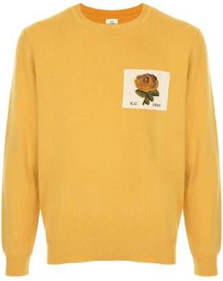 Kent & Curwen patch sweater