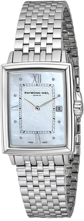 Raymond Weil Women's 5956-St-00915 Quartz Dial Stainless Steel Dial Watch