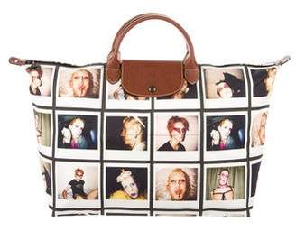 Jeremy Scott x Longchamp Le Pliage Polaroid Tote