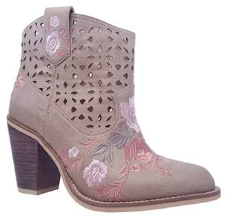 Rebels Sherry Embroidered Western Bootie