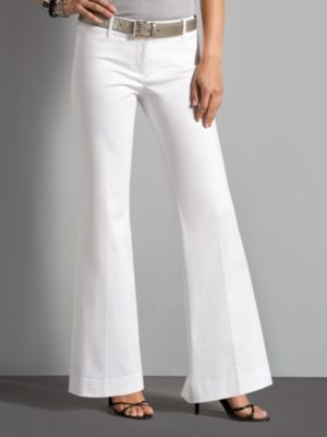City Stretch Flare Leg Pants