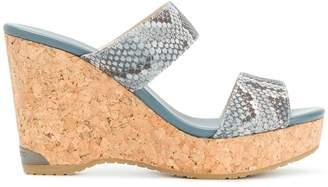 Jimmy Choo Parker wedge sandals